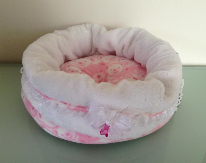 hundebett hundenest baby dream rosa hunde nestchen hunde k rbchen ebay. Black Bedroom Furniture Sets. Home Design Ideas